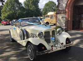 Beauford wedding car for hire in Bristol